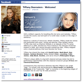 Customizing Facebook Pages for Bands & Brands