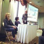 Me moderating an Advanced Social Media panel at NERFA