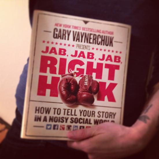 Jab, Jab, Jab, Right Hook Is A Must #SocialMedia Book