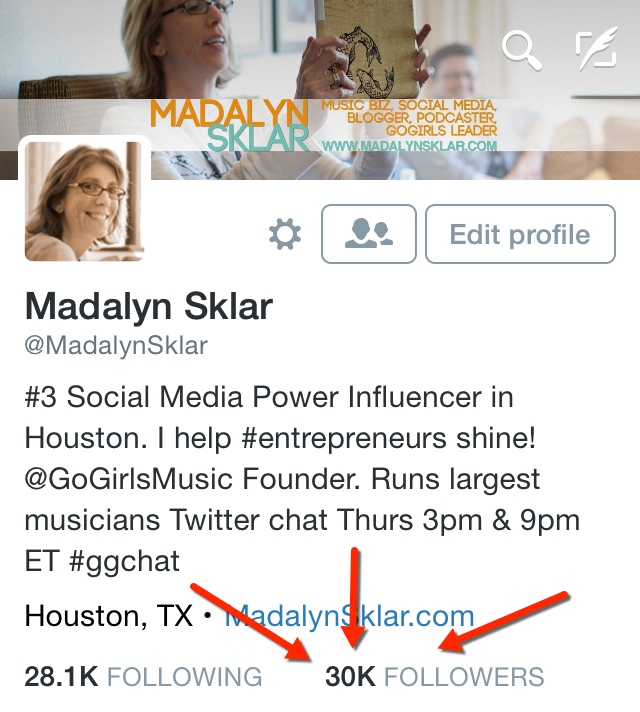 Madalyn Sklar Twitter