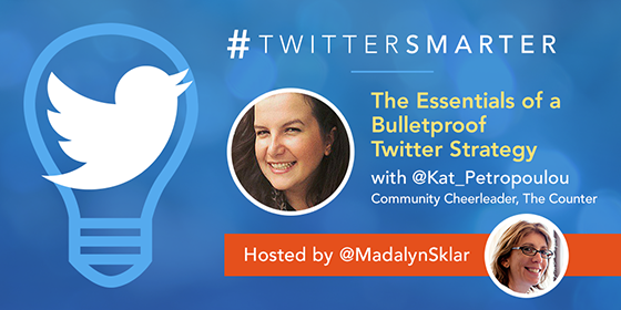 The Essentials of a Bulletproof Twitter Strategy with Katerina Petropoulou