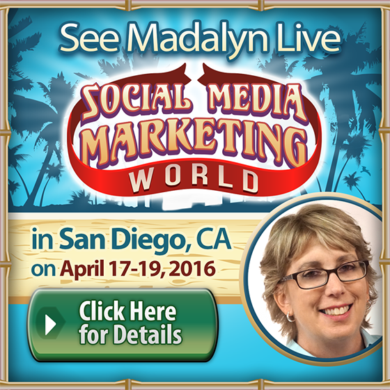 See you at Social Media Marketing World!
