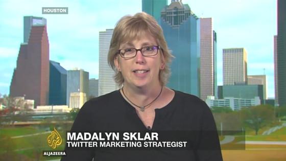 Madalyn Sklar on Al Jazeera TV