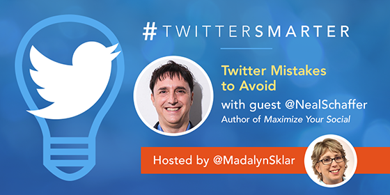 Twitter Mistakes to Avoid with Neal Schaffer