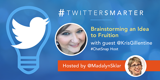 #TwitterSmarter Chat with Kristy Gillentine