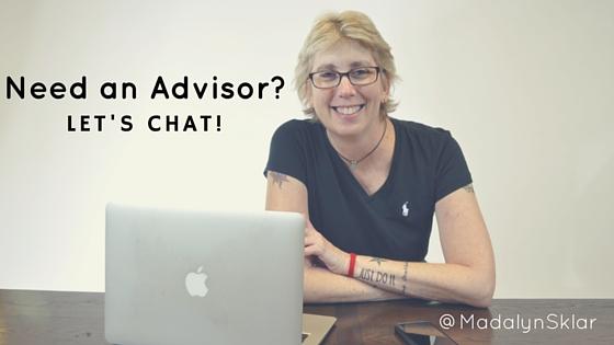 Need an Advisor? I'm here to help!