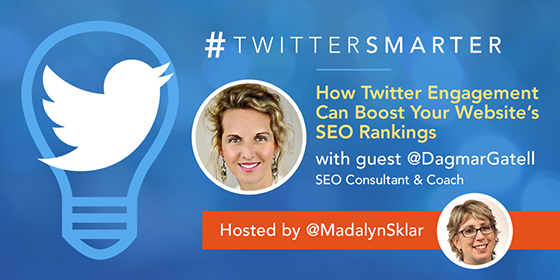 How Twitter Engagement Can Boost Your Website's SEO Rankings with Dagmar Gatell