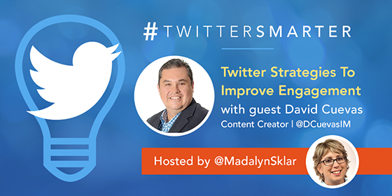 Twitter Strategies To Improve Engagement with David Cuevas