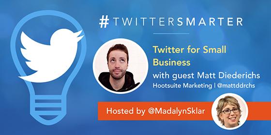 Twitter for Small Business with Matt Diederichs