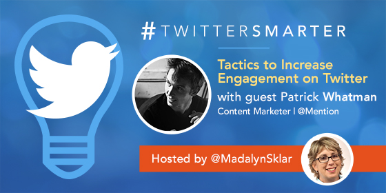 Tactics to Increase Engagement on Twitter with Patrick Whatman