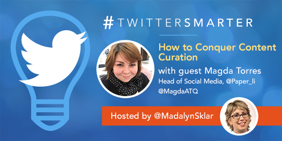 How To Conquer Content Curation with Magda Torres