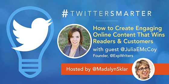 How to Create Engaging Online Content That Wins Readers & Customers with Julia McCoy