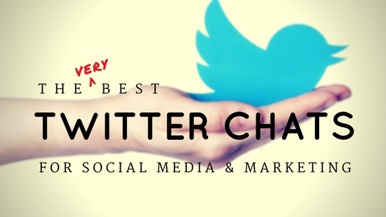 The Very Best Twitter Chats for Social Media and Marketing