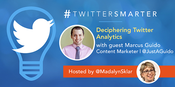 Deciphering Twitter Analytics with Marcus Guido