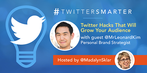 Twitter Hacks That Will Grow Your Audience with Leonard Kim