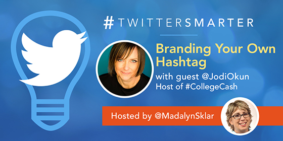 Branding Your Own Hashtag with Jodi Okun
