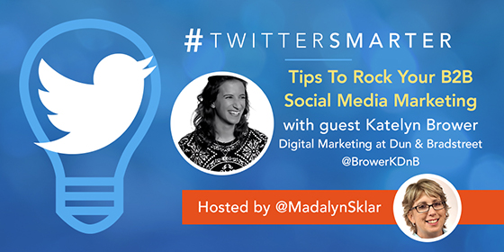 Tips To Rock Your B2B Social Media Marketing with Katelyn Brower