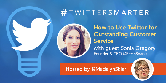 How to Use Twitter for Outstanding Customer Service with Sonia Gregory