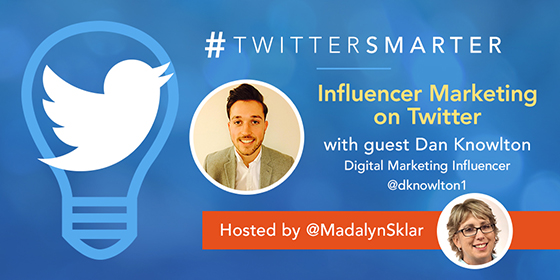 Influencer Marketing on Twitter with Daniel Knowlton
