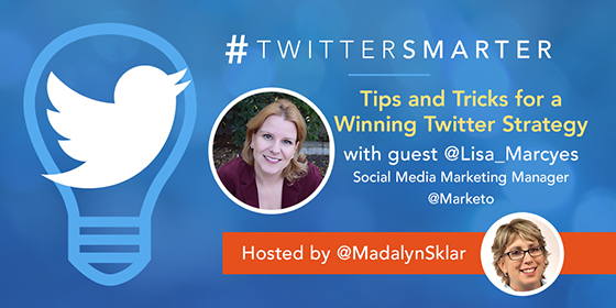 Tips and Tricks for a Winning Twitter Strategy with Lisa Marcyes