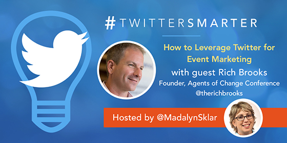 How to Leverage Twitter for Event Marketing with Rich Brooks