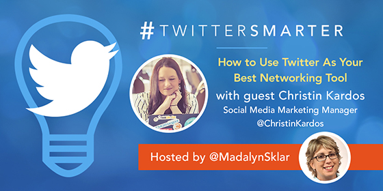 How to Use Twitter As Your Best Networking Tool with Christin Kardos