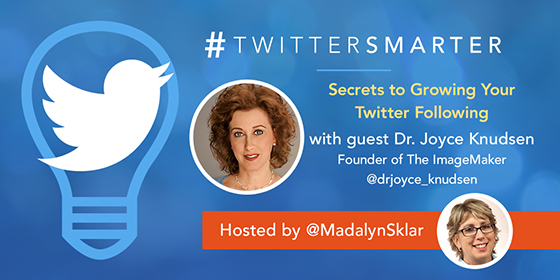 Secrets to Growing Your Twitter Following with Dr. Joyce Knudsen