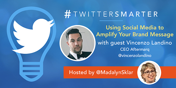 Using Social Media to Amplify Your Brand Message with Vincenzo Landino
