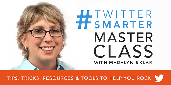 Tweet Like a Rockstar with My #TwitterSmarter Master Class