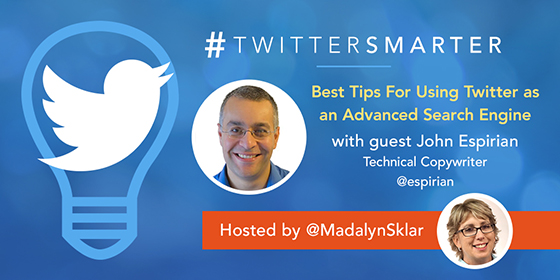 Best Tips For Using Twitter as an Advanced Search Engine with John Espirian