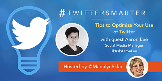 Tips to Optimize Your Use of Twitter with Aaron Lee