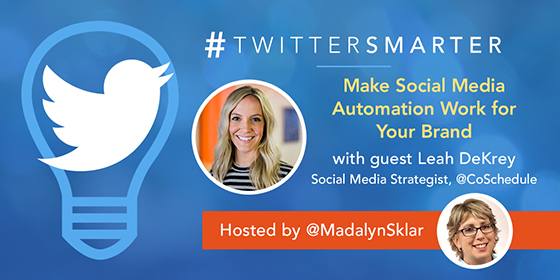 Make Social Media Automation Work for Your Brand with Leah DeKrey of CoSchedule