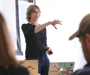 Madalyn Sklar Teaching In Front Of Classroom
