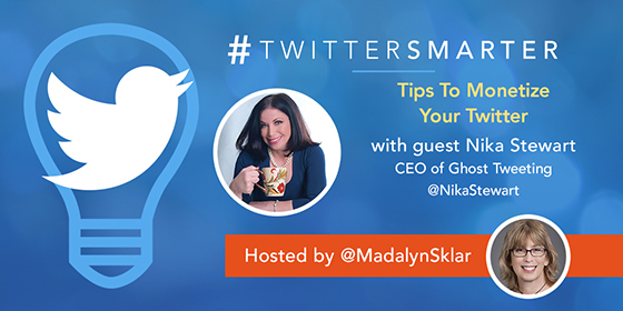 Tips To Monetize Your Twitter with Nika Stewart