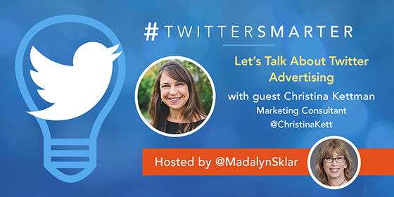 Let's Talk About Twitter Advertising with Cristina Kettman