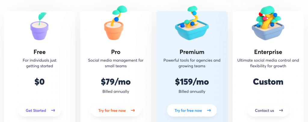 Agorapulse pricing plans