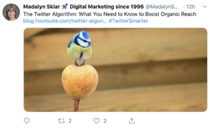 curated content tweet