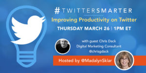 #TwitterSmarter Chat Recap with Chris Dack: Providing Customer Service on Twitter