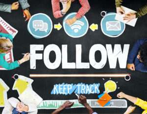 how to follow people on twitter