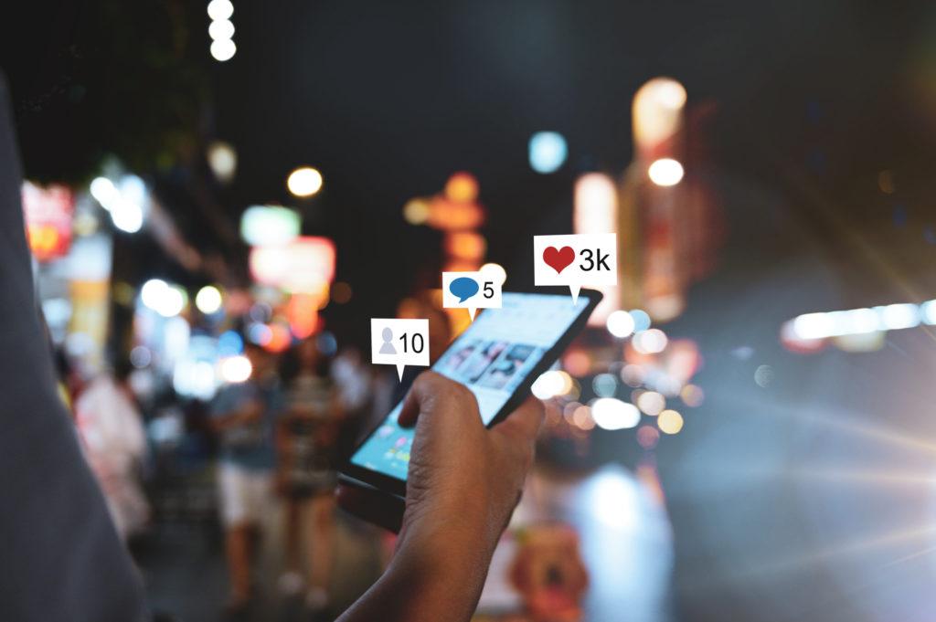 add value through social media