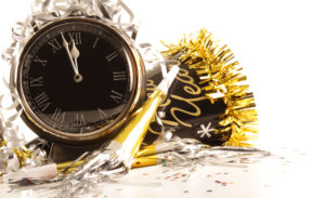 New Year's social media posts