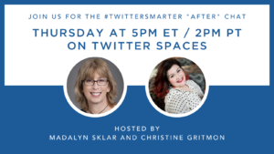 Twitter Spaces chat